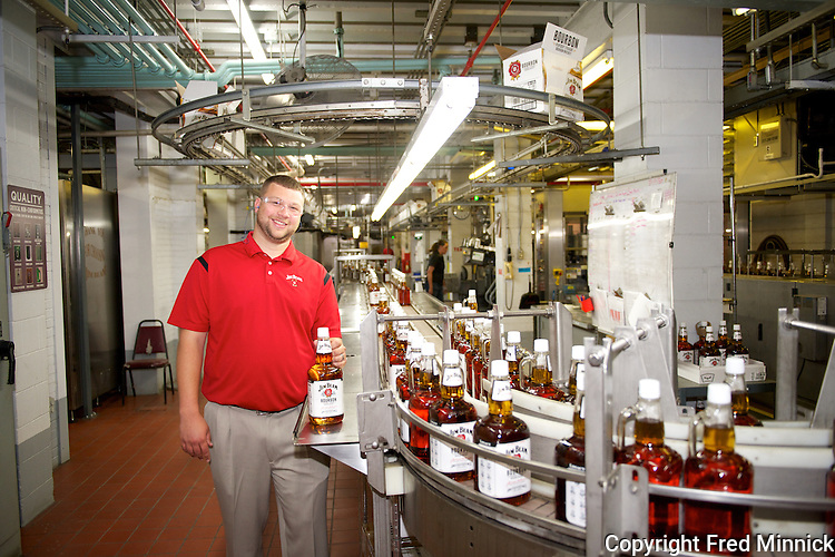 Freddie Noe (IV) is the great great grandson of Jim Beam and grandson of Booker Noe. The younger Noe begins his journey at his family distillery--Jim Beam--in Claremont, Kentucky.