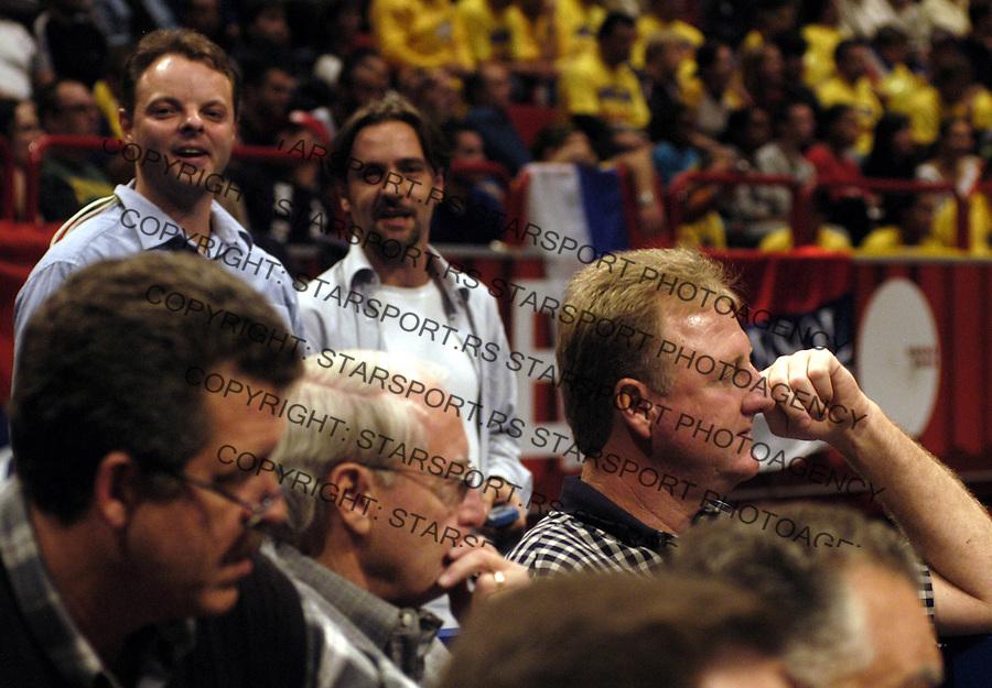 Stokholm 12.09.2003.&amp;#xA;Serdjan Djuric i Lari Bird&amp;#xA;foto: Pedja Milosavljevic<br />