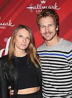 LOS ANGELES, CA - DECEMBER 4: Rusty Joiner, Charity Walden Joiner, at Screening Of Hallmark Channel's 'Christmas At Holly Lodge' at The Grove in Los Angeles, California on December 4, 2017. Credit: Faye Sadou/MediaPunch /NortePhoto.com NORTEPHOTOMEXICO