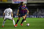 UEFA Women's Champions League 2018/2019.<br /> Quarter Finals.<br /> FC Barcelona vs LSK Kvinner FK: 3-0.<br /> Isabelle Bachor vs Alexia Putellas.