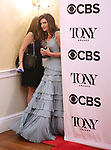 Stacey Mindich poses at the 71st Annual Tony Awards, in the press room at Radio City Music Hall on June 11, 2017 in New York City.