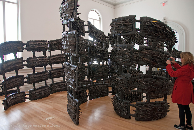 """Wonder"" is the inaugural exhibition at the Renwick Gallery in Washington D.C. - Artist Chakala Booker"