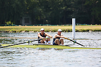 Race: 278  MasE.2-  Final<br /> 101  Milton Keynes Rowing Club<br /> 102  Upper Thames Rowing Club<br /> <br /> Henley Masters Regatta 2018 - Saturday<br /> <br /> To purchase this photo, or to see pricing information for Prints and Downloads, click the blue 'Add to Cart' button at the top-right of the page.