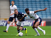 Bolton Wanderers' Mark Little is fouled by Millwall's Shane Ferguson<br /> <br /> Photographer Ashley Western/CameraSport<br /> <br /> The EFL Sky Bet Championship - Millwall v Bolton Wanderers - Saturday August 12th 2017 - The Den - London<br /> <br /> World Copyright &not;&copy; 2017 CameraSport. All rights reserved. 43 Linden Ave. Countesthorpe. Leicester. England. LE8 5PG - Tel: +44 (0) 116 277 4147 - admin@camerasport.com - www.camerasport.com