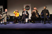 L to R: Simon Marcus (Conservative), Tulip Siddiq (Labour), Chair Geoff Martin (editor of the Hampstead & Highgate Express), Rachel Johnson (Green Party), Maajid Nawaz (Lib-Dem; Co-Founder and Chairman of the Quilliam Foundation).  General election hustings in Hampstead and Kilburn, the second most marginal constituency in the UK.