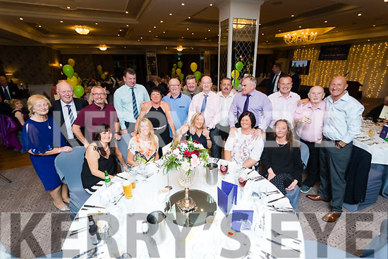 Pictured at the 40th Anniversary meal of the Kerry Branch of the Irish Referee Society at The Rose Hotel, Tralee on Saturday evening last