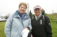 Lady President of Laytown and Bettystown Golf Club, Mary Delaney with Lady President of Co.Louth Golf CLub, Dorothy Mallon at the 3 Irish Open Golf in Baltray...Photo NEWSFILE/Jenny Matthews.(Photo credit should read Jenny Matthews/NEWSFILE)....This Picture has been sent you under the condtions enclosed by:.Newsfile Ltd..The Studio,.Millmount Abbey,.Drogheda,.Co Meath..Ireland..Tel: +353(0)41-9871240.Fax: +353(0)41-9871260.GSM: +353(0)86-2500958.email: pictures@newsfile.ie.www.newsfile.ie.FTP: 193.120.102.198.