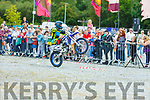 The thrills and spills at the Quad Bike Stunt Show on Sunday.