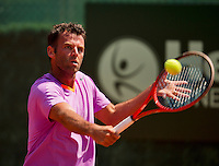 09-07-13, Netherlands, Scheveningen,  Mets, Tennis, Sport1 Open, day two, Marc Gicquel (FRA)<br /> <br /> <br /> Photo: Henk Koster