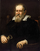 "Galileo Galilei pianting byJustus Sustermans in 1636<br /> <br /> Galileo Galilei , 15 February 1564 – 8 January 1642), was an Italian physicist, mathematician, astronomer, and philosopher who played a major role in the Scientific Revolution. His achievements include improvements to the telescope and consequent astronomical observations and support for Copernicanism. Galileo has been called the ""father of modern observational astronomy"", the ""father of modern physics"",the ""father of science"",and ""the Father of Modern Science""."