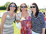 Sharon Clarke, Vivienne McBride and Michelle Dowling pictured at Tullyallen Sports Day. Photo:Colin Bell/pressphotos.ie