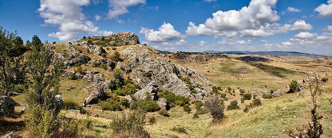Hattusa (also Ḫattuša or Hattusas) late Anatolian Bronze Age capital of the Hittite Empire. Hittite archaeological site and ruins, Boğazkale, Turkey.