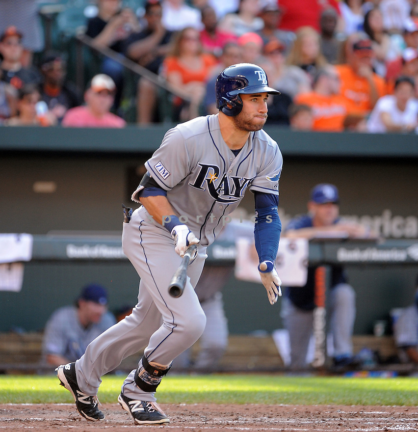 Tampa Bay Rays Kevin Kiermaier (39) during a game against the Baltimore Orioles on June 28, 2014 at Oriole Park in Baltimore, MD. The Rays beat the Orioles 5-4.
