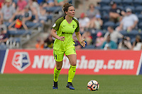 Bridgeview, IL - Sunday June 04, 2017: Rachel Corsie during a regular season National Women's Soccer League (NWSL) match between the Chicago Red Stars and the Seattle Reign FC at Toyota Park. The Red Stars won 1-0.