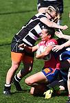 NELSON, NEW ZEALAND - OCTOBER 14: Tasman Makos Women v Hawkes Bay at Trafalgar Park in Nelson, New Zealand. (Photo by: Chris Symes/Shuttersport Limited)