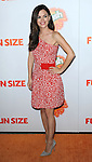 """Rachel Bilson at the Los Angeles Premiere of """"Fun Size"""" held at Paramount Theater Los Angeles California October 25, 2012."""