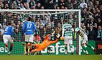29.12.2019 Celtic v Rangers: Allan McGregor saves penalty kick