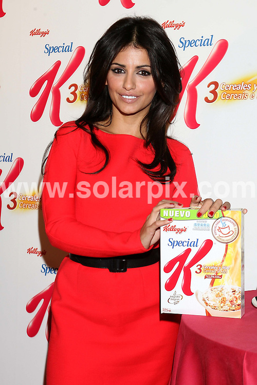 **ALL-ROUND PICTURES FROM SOLARPIX.COM**.**WORLD SYNDICATION RIGHTS EXCEPT BELGIUM, GERMANY, HOLLAND, SCANDINAVIA, SOUTH AMERICA, SPAIN, & USA**.Actress and dancer Monica Cruz, Penelope Cruz's sister, invites you to take a healthy and warm breakfast and to show everyone how to watch their figure for Xmas holidays.Kellog's Special K and Monica Cruz...This pic: Monica Cruz..JOB REF:10403      SKX      DATE: 16.12.09 .**MUST CREDIT SOLARPIX.COM OR DOUBLE FEE WILL BE CHARGED**.**MUST NOTIFY SOLARPIX OF ONLINE USAGE**.**CALL US ON: +34 952 811 768 or LOW RATE FROM UK 0844 617 7637**