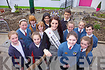 Students council from Balloonagh primary school, Trale met this years Rose of Tralee Nicola Furlong during the launch of their new Butterfly Garden on Friday afternoon. Pictured were: Amy O'MAhony, Saibh Norris, Sandra Monaghan, Jessica Barrett, Claire Crowley, Ciara Ryan, Majella Votta, Lucy O'Carroll, Eoin Walsh, Linda Graham, Aliha Dor and Matthew Lukco.