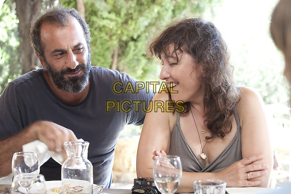 PANOS KORONIS. ATHINA RACHEL TSANGARI<br /> in Before Midnight (2013) <br /> *Filmstill - Editorial Use Only*<br /> CAP/FB<br /> Supplied by Capital Pictures