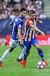 Atletico de Madrid's Koke Resurrecccion during the match of La Liga Santander between Atletico de Madrid and Deportivo Alaves at Vicente Calderon Stadium. August 21, 2016. (ALTERPHOTOS/Rodrigo Jimenez)