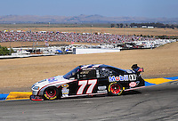 Jun. 21, 2009; Sonoma, CA, USA; NASCAR Sprint Cup Series driver Sam Hornish Jr during the SaveMart 350 at Infineon Raceway. Mandatory Credit: Mark J. Rebilas-