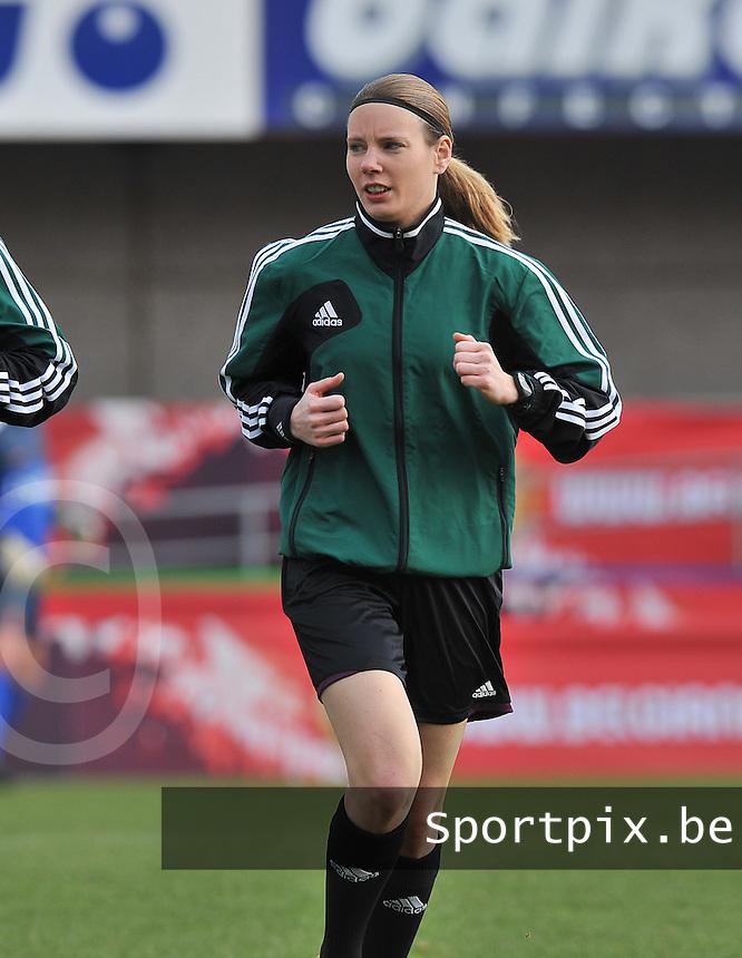 Belgium - The Netherlands : Stephanie Forde.foto DAVID CATRY / Vrouwenteam.be