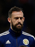 Steven Fletcher of Scotland during the Vauxhall International Challenge Match match at Hampden Park Stadium. Photo credit should read: Simon Bellis/Sportimage