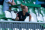 Trommlerin Laura Kersting (Physiotherapeutin SV Werder Bremen)<br /> <br /> <br /> Sport: nphgm001: Fussball: 1. Bundesliga: Saison 19/20: 34. Spieltag: SV Werder Bremen vs 1.FC Koeln  27.06.2020<br /> <br /> Foto: gumzmedia/nordphoto/POOL <br /> <br /> DFL regulations prohibit any use of photographs as image sequences and/or quasi-video.<br /> EDITORIAL USE ONLY<br /> National and international News-Agencies OUT.