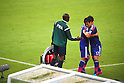 (L-R) Yasuhito Endo, Makoto Hasebe (JPN), JUNE 14, 2014 - Football / Soccer : Japan's Makoto Hasebe (R) is substituted by Yasuhito Endo during the FIFA World Cup Brazil 2014 Group C match between Cote d'Ivoire and Japan at Arena Pernambuco in Recife, Brazil. (Photo by Kenzaburo Matsuoka/AFLO)