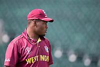 Oshane Thomas (West Indies) during West Indies vs New Zealand, ICC World Cup Warm-Up Match Cricket at the Bristol County Ground on 28th May 2019