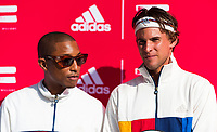 ADIDAS PHARRELL WILLIAMS CLOTHING LAUNCH - FREDERICK JOHNSON COURT-HARLEM<br /> <br /> TENNIS - THE US OPEN - FLUSHING MEADOWS - NEW YORK CITY - NEW YORK - USA - ATP - WTA - ITF - GRAND SLAM - OPEN - NEW YORK - USA - 2017  <br /> <br /> <br /> <br /> &copy; TENNIS PHOTO NETWORK