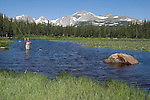 Angler at Indian Peaks Wilderness, just west of Boulder.<br /> Outside Imagery custom photo tours to Indian Peaks and Rocky Mountain National Park. Year-round Colorado tours. Colorado tours by Outside Imagery.