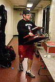 Matt Nareski (NU - Equipment Manager) - The Boston College Eagles defeated the Northeastern University Huskies 5-1 on Saturday, November 7, 2009, at Conte Forum in Chestnut Hill, Massachusetts.