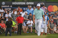 Jordan Spieth (USA) approaches the green on 18 during round 4 of the Houston Open, Golf Club of Houston, Houston, Texas. 4/1/2018.<br /> Picture: Golffile | Ken Murray<br /> <br /> <br /> All photo usage must carry mandatory copyright credit (&copy; Golffile | Ken Murray)