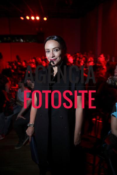 Suzana Pires  <br /> <br /> Alexandre Herchcovitch<br /> <br /> S&atilde;o Paulo Fashion Week- Ver&atilde;o 2016<br /> Abril/2015<br /> <br /> foto: Midori de Lucca/ Ag&ecirc;ncia Fotosite