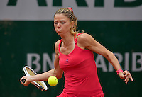 Paris, France, 26 June, 2016, Tennis, Roland Garros,  Camila Giorgi (ITA)<br />