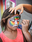 Face painting. The 79th Amador County Fair, Plymouth, Calif.<br /> <br /> <br /> #AmadorCountyFair, #PlymouthCalifornia,<br /> #TourAmador, #VisitAmador,