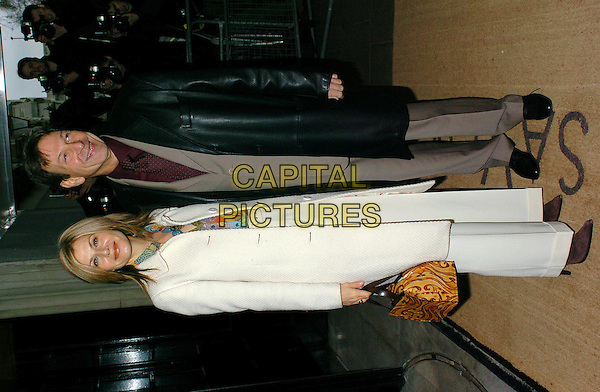 GLYNIS BARBER & MICHAEL BRANDON.South Bank Show Awards at the Savoy Hotel.23 January 2004.full length, full-length.www.capitalpictures.com.sales@capitalpictures.com.©Capital Pictures
