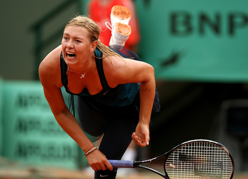 Photo: Maarten Straetemans..French Open, Roland Garros 2007. 30/05/2007..Maria Sharapova.