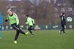 14.01.2018, Trainingsgelaende, Bremen, GER, 1.FBL, Training SV Werder Bremen<br /> <br /> im Bild<br /> Jerome Gondorf (Werder Bremen #8), <br /> <br /> Foto &copy; nordphoto / Ewert