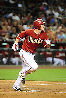 May 19, 2010; Phoenix, AZ, USA; Arizona Diamondbacks shortstop Stephen Drew against the San Francisco Giants at Chase Field. Mandatory Credit: Mark J. Rebilas-