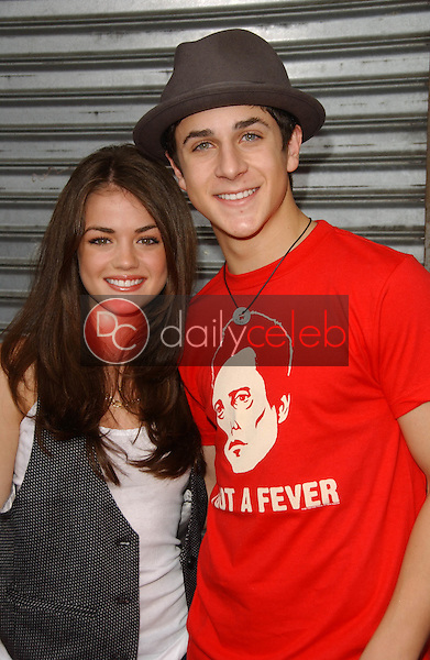 Lucy Hale and David Henry<br />