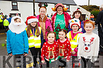 Taking part in the Reindeer Run in Caherdaniel on the 23rd December to raise funds for the Irish Motor Neuron Association were front l-r; Lauren Gleeson, Aisling Breen, back l-r; Devon Smith, Ciara Gleeson, Aimee O'Donoghue, Maureen O'Donoghue, Zoe Gleeson, Poppy Smith & Caoilainn Breen.
