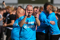 Woking manager Alan Dowson thanks the fans at the end of the match during Woking vs Welling United, Vanarama National League South Promotion Play-Off Final Football at The Laithwaite Community Stadium on 12th May 2019
