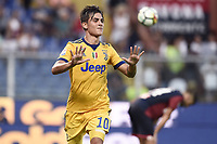 esultanza gol Paulo Dybala goal celebration<br /> Genova 26-08-2017 Stadio Marassi Calcio Serie A 2017/2018 Genoa - Juventus<br /> Juventus Foto Imagesport/Insidefoto