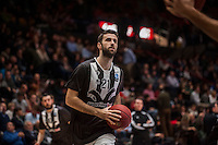 VALENCIA, SPAIN - JANUARY 6: Nikola Markovic during EUROCUP match between Valencia Basket and PAOK Thessaloniki at Fonteta Stadium on January 6, 2015 in Valencia, Spain