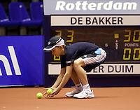 11-12-09, Rotterdam, Tennis, REAAL Tennis Masters 2009, Ballenjongen