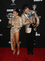 "Los Angeles, CA - NOVEMBER 22: Laurie Hernandez, Val Chmerkovskiy, At ABC's ""Dancing With The Stars"" Season 23 Finale At The Grove, California on November 22, 2016. Credit: Faye Sadou/MediaPunch"