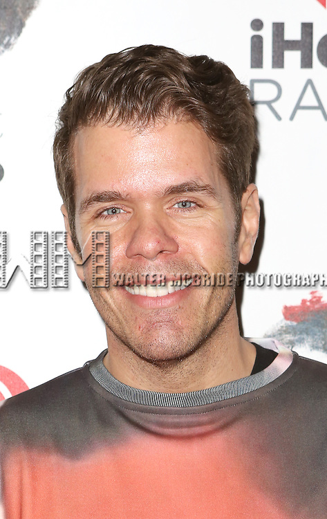 Perez Hilton attends the Broadway Opening Night performance of 'The Last Ship' at the Neil Simon Theatre on October 26, 2014 in New York City.